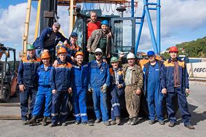 Конкурс операторов контейнерных перегружателей