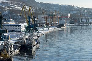 Росморречфлот готовится модифицировать неудовлетворительно больших причала во порту Петропавловска-Камчатского